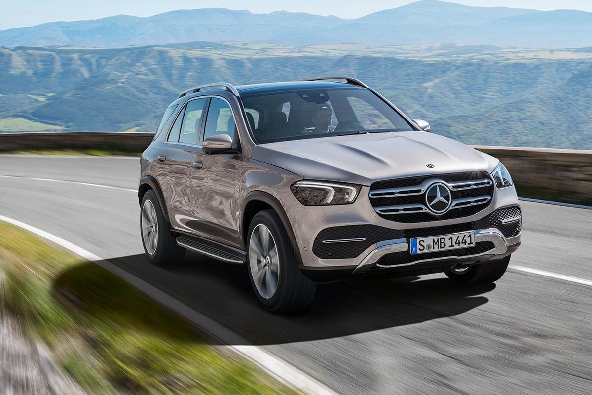 Новый Mercedes-Benz GLE