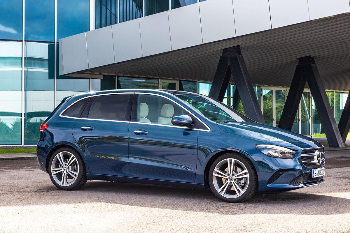 Новый Mercedes-Benz В-Класс
