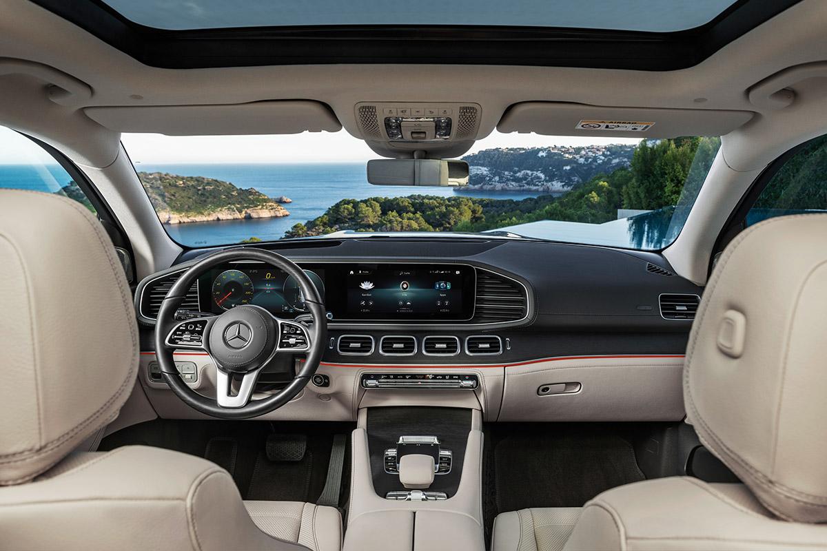 Новый Mercedes-Benz GLS