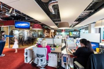 Один из крупнейших офисов Google