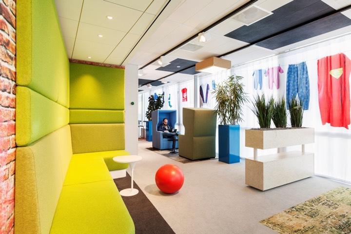 Офис Google в Amsterdam