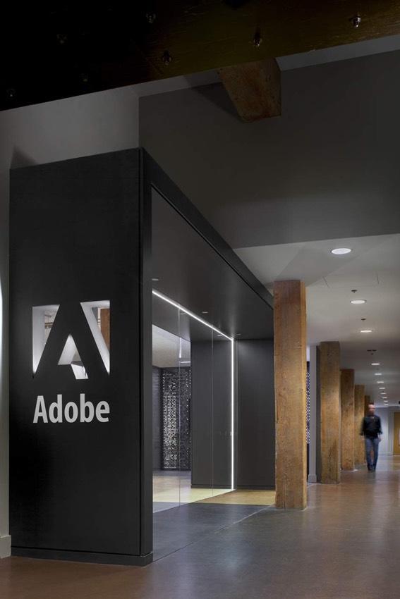 Новый офис Adobe в San Francisco