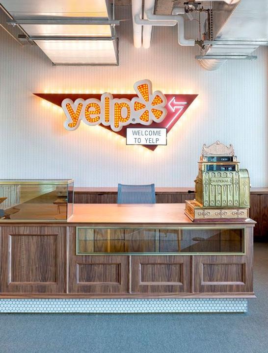 Новый офис Yelp в San Francisco