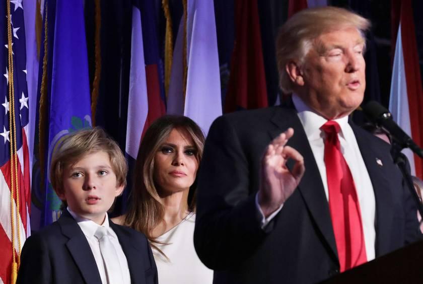 Как живет младший сын Дональда Трампа