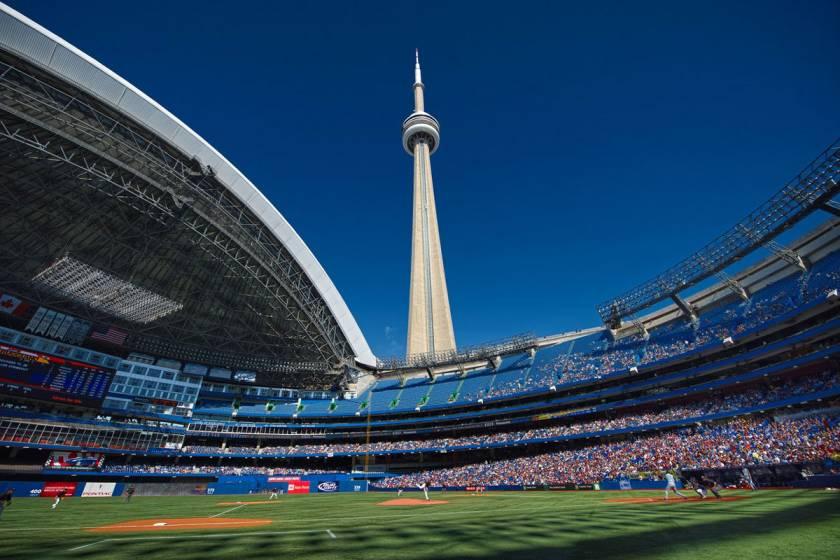 Как строили CN Tower в Торонто