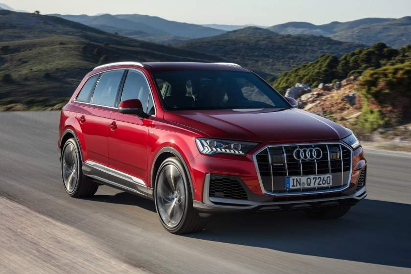 The new edition of Audi Q7